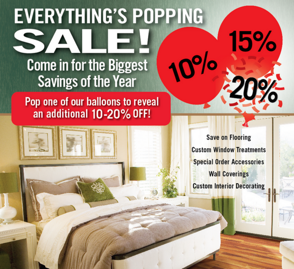 Everything's Popping Sale