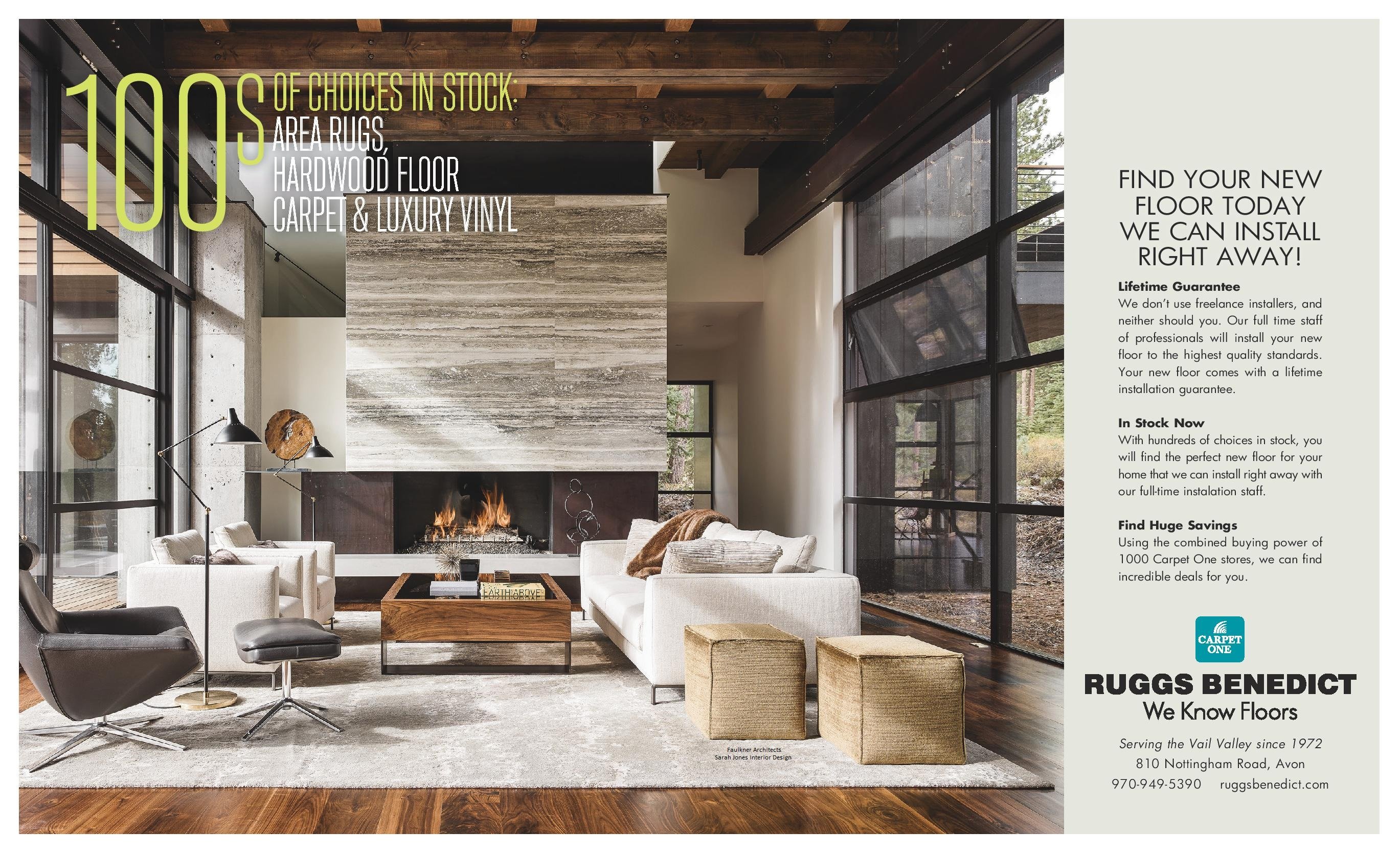 Ruggs Benedict flooring sale