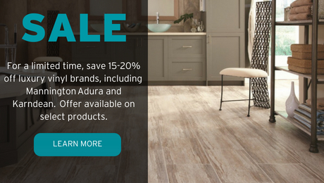 luxury vinyl flooring sale