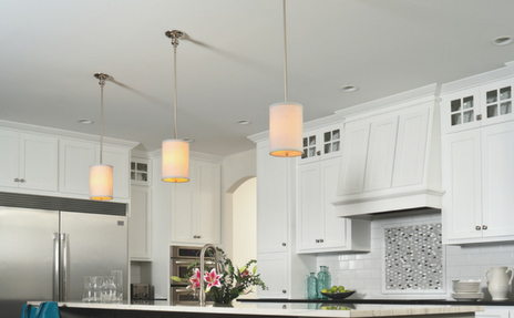 Light fixtures and kitchen lighting at shelby design center carpet