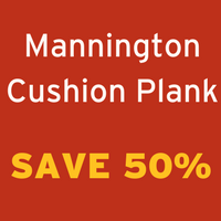 Save 50%  off Mannington Cushion Plank