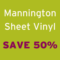 Save 50% off Mannington Sheet Vinyl
