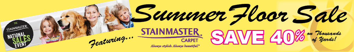 Stainmaster Summer sale