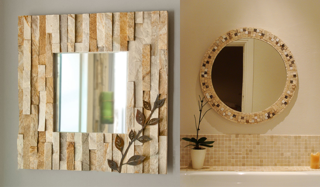 Stone Decor Mirrors