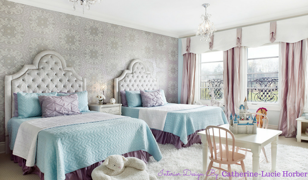 Frozen Inspired Bedroom by Catherine-Lucie Horber