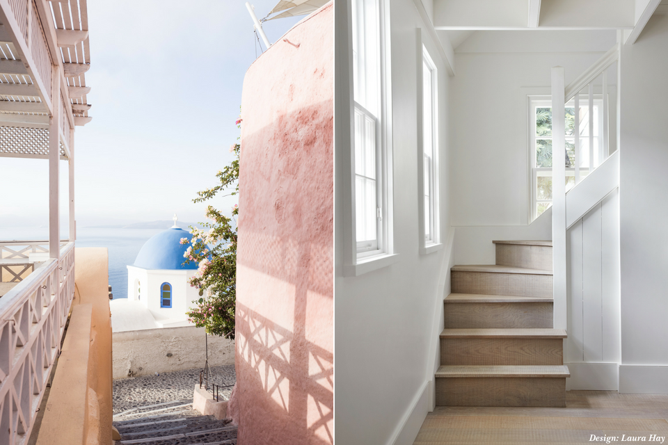 Santorini Inspired Home Decor