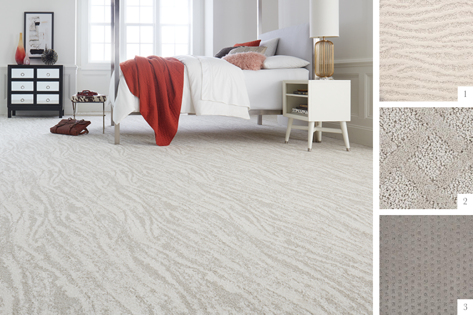 6 Flooring Trends to Try In Your Home | Patterned Carpet |Textured Carpet