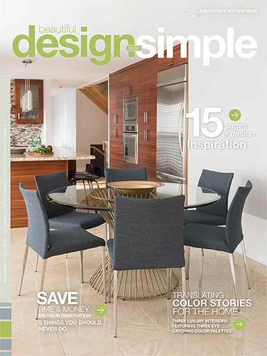 Beautiful Design Made Simple Spring 2016, Home Design Magazine