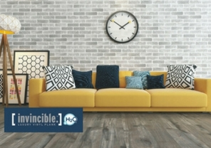 Invincible H2O luxury vinyl flooring