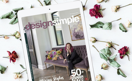 Digital Interior Design Magazine, Beautiful Design Made Simple, Soda Pop Design
