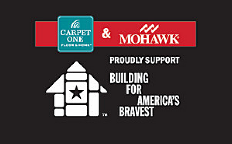 Carpet One and Mohawk support Building for America's Bravest