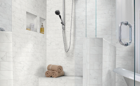 belterra stone and tile shower