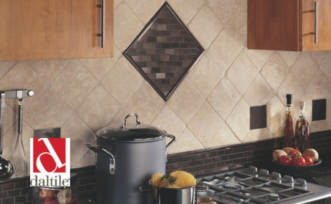 Daltile backsplash tile