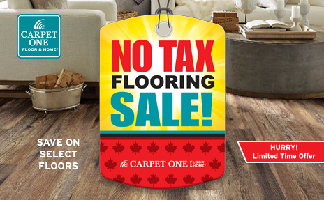 No Tax Flooring Sale
