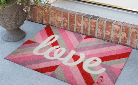 Breast Cancer Awareness Door Mat
