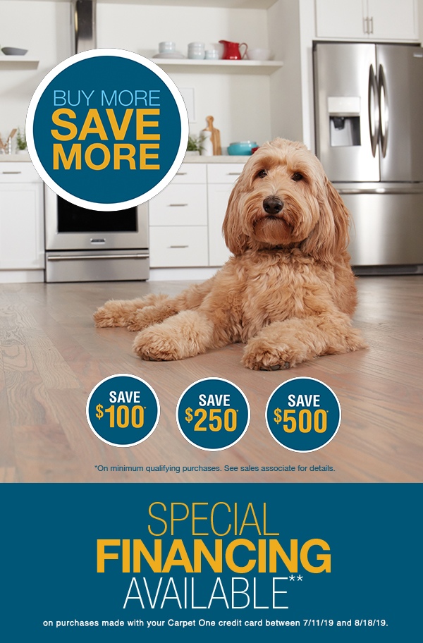 Special Financing, National Flooring Sale, Flooring Sale