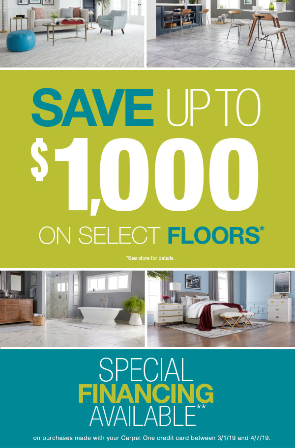 Home Makeover Flooring Sale