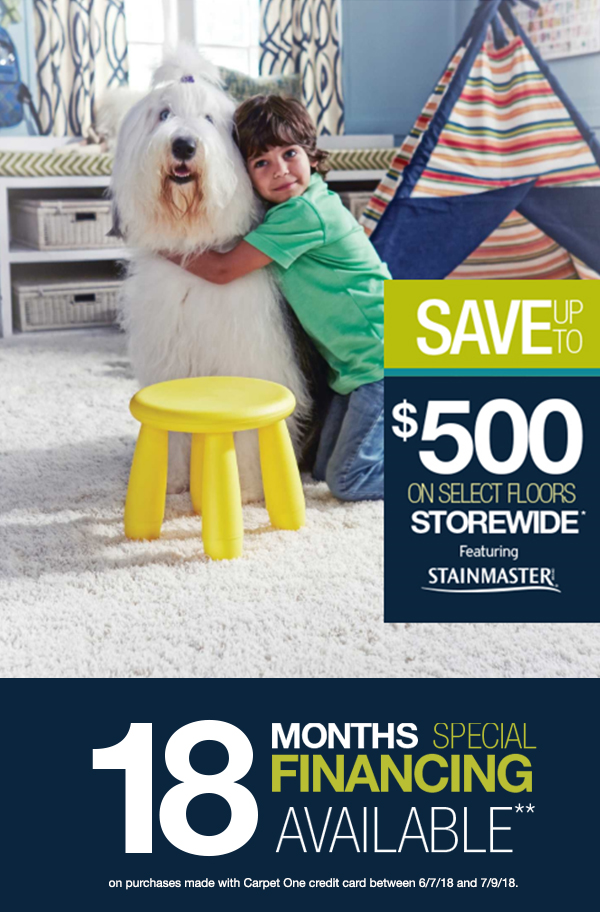 Stainmaster National Flooring Sale