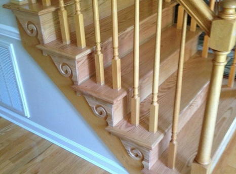 Custom staircase jobs