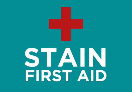 stain first aid
