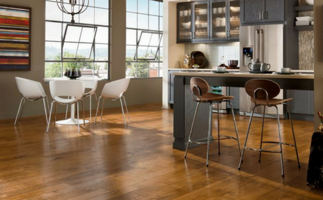 armstrong hardwood in kitchen