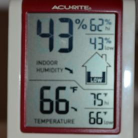 Monitoring Humidity: Even if you don't have Hardwood Floors